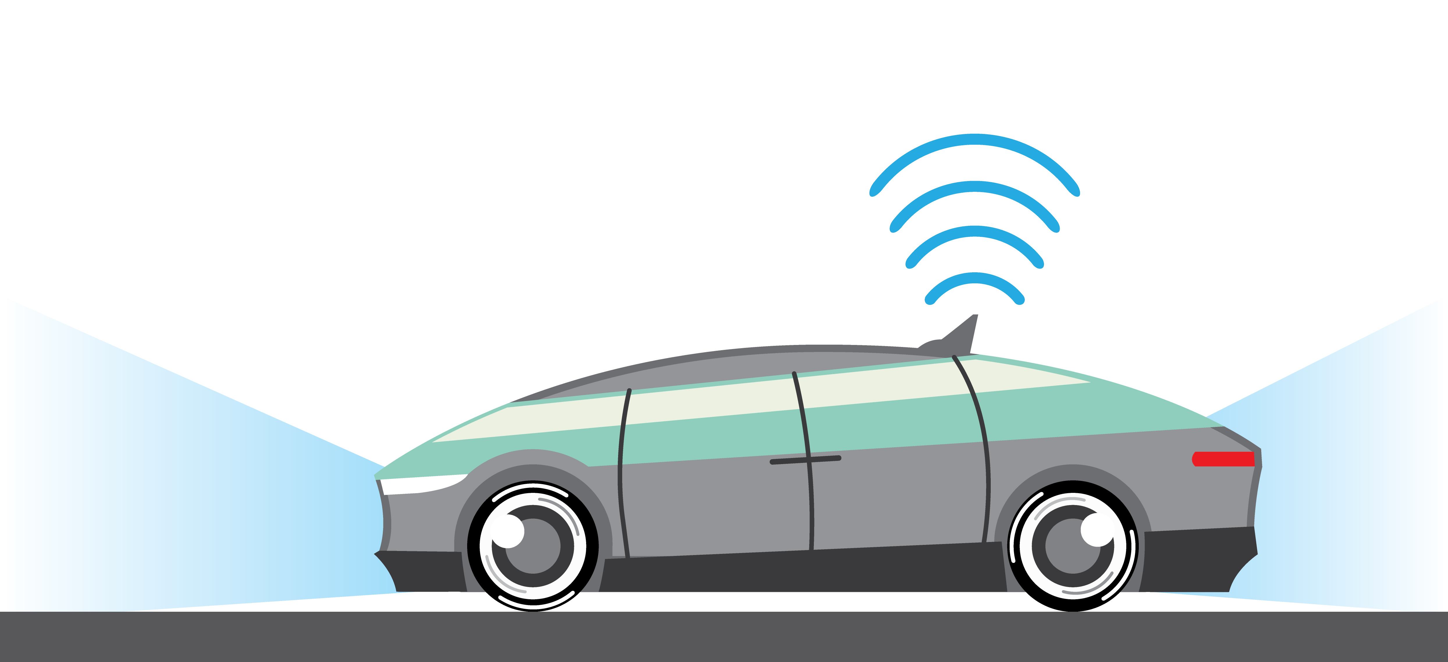 Connected vehicle illustration
