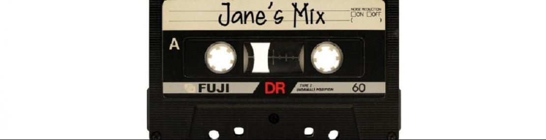 Tape deck with Jane's Mix written on it.