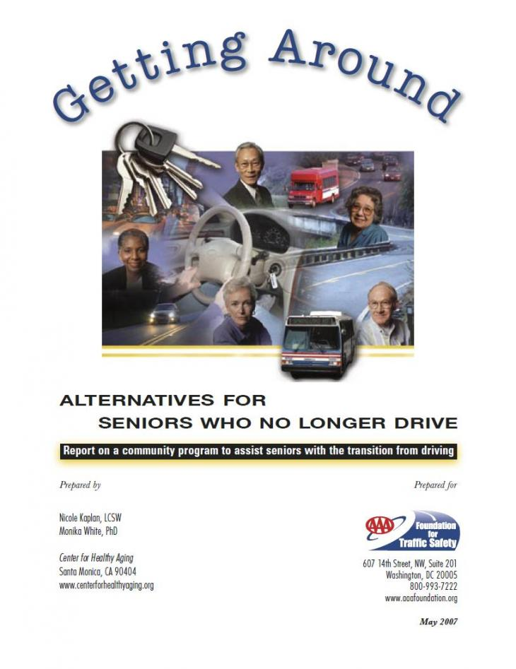 Getting Around report cover