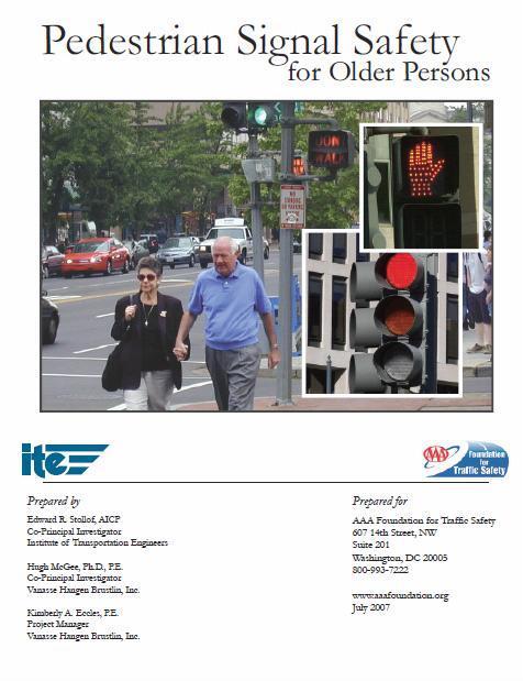 Pedestrian crossing report